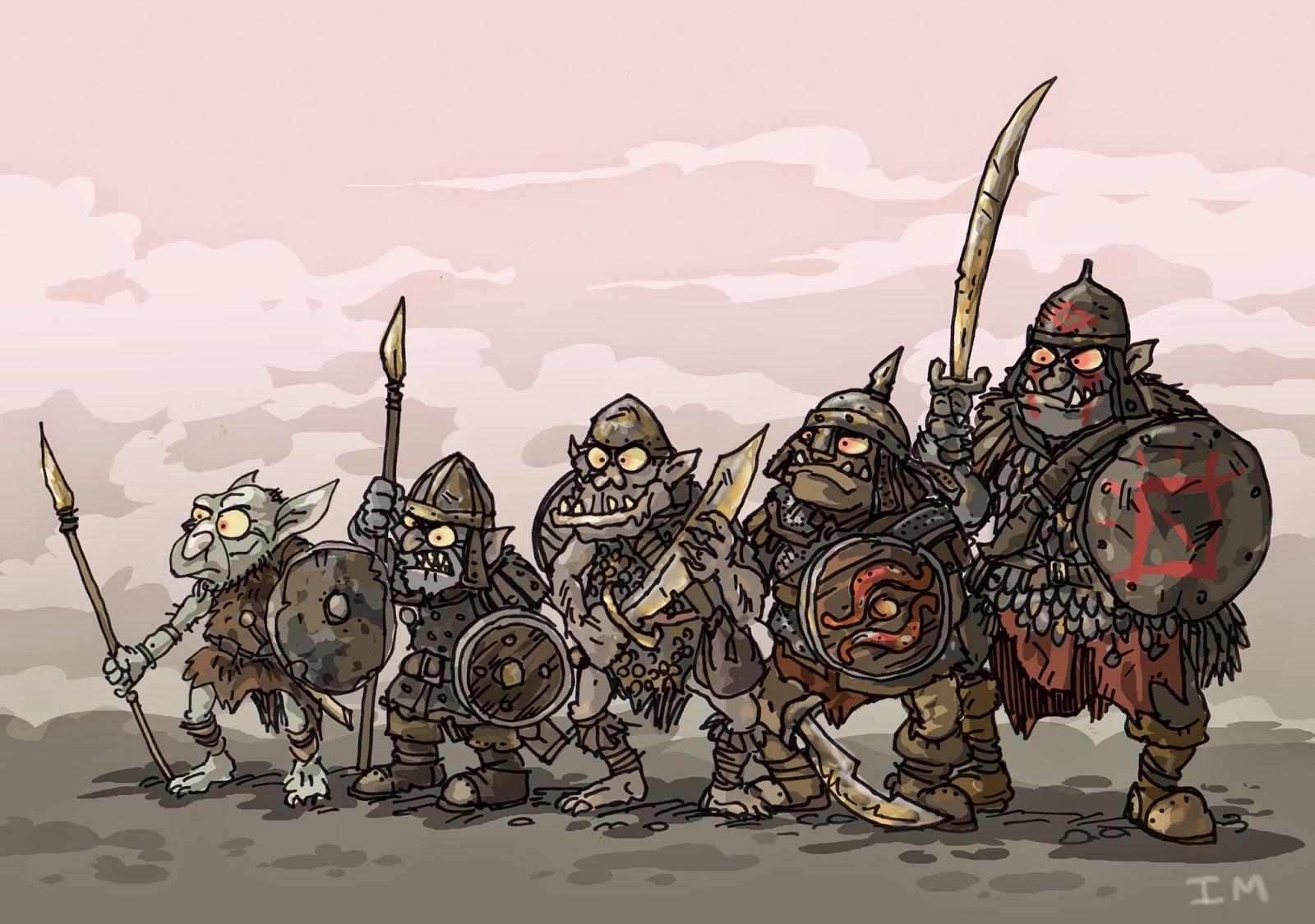 свободолюбивый народ орков подвергаемый геноциду