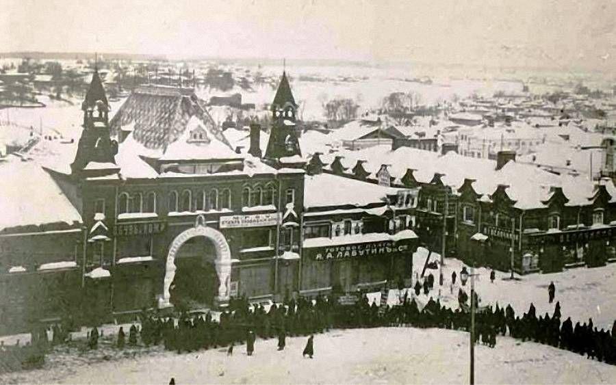 Смутные кимрские  дни 1905 года